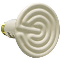 Ceramic heat bulb - non- light emitting